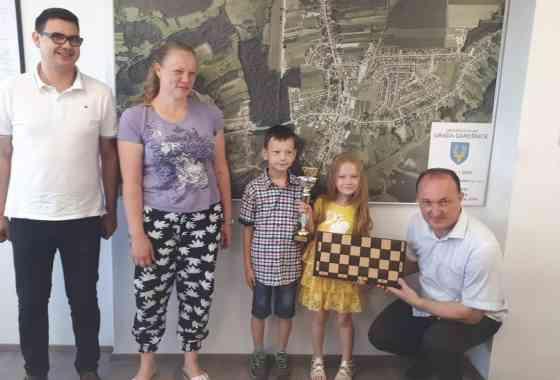 Gradonačelnik primio državnu prvakinju u šahu